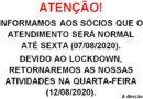 Decreto de Lockdown!