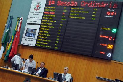 Câmara Municipal de Londrina aprova estender horário do funcionamento de funcionários do comércio, indústrias e serviços