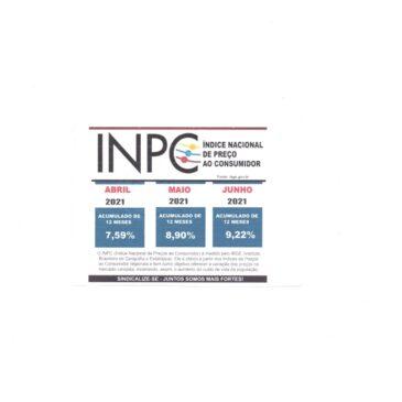 INPC JUNHO 2021