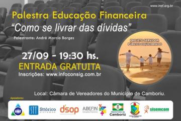 PALESTRA EDUCAÇÃO FINANCEIRA