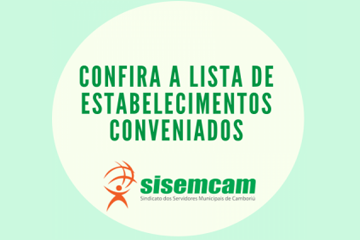 Confira a lista de estabelecimentos conveniados ao Sisemcam