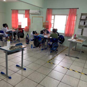 Sindicato pede suspensão das aulas: escolas sem professores e com aglomeração em Camboriú