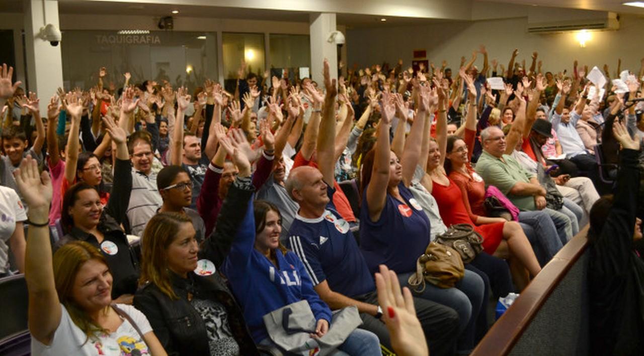 Trabalhadores rejeitaram proposta por unanimidade I Foto: Francine Hellmann