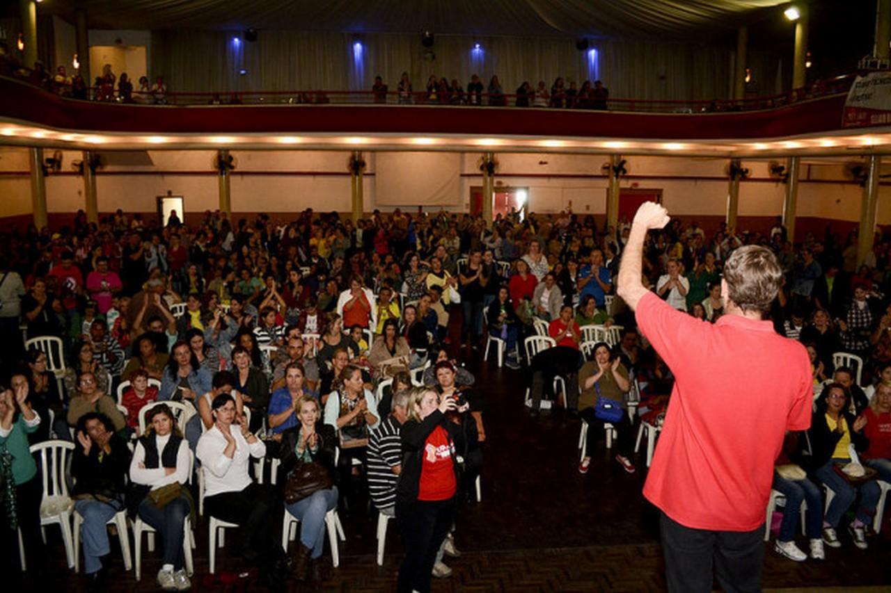 Servidores tomaram a decisão unidos, por ampla maioria I Foto: Johannes Halter