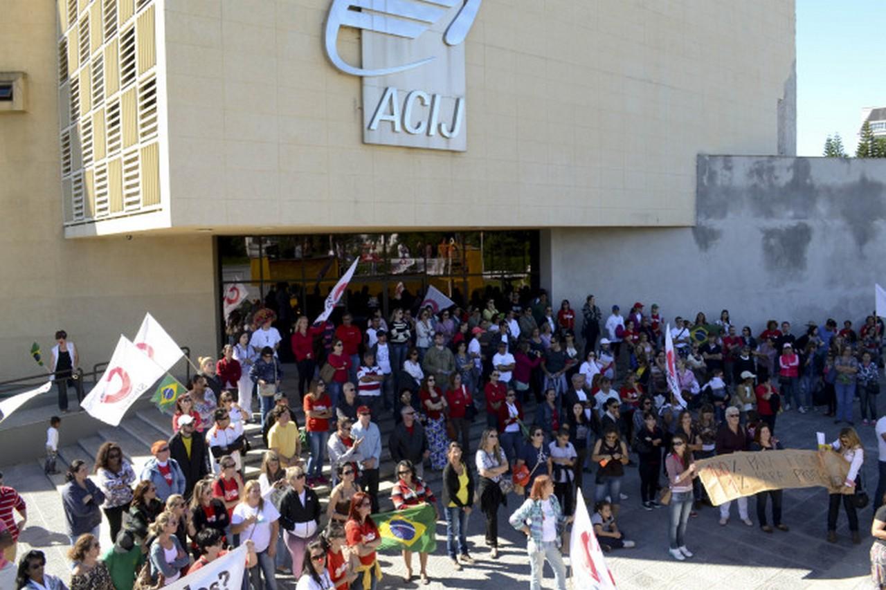 A participação nos comandos de greve é importante I Foto: Francine Hellmann