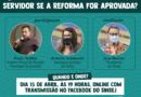 Live contra a Reforma! Participe!