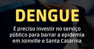 investimento-urgente- serviço público- dengue