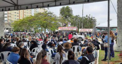 Sinsej apoia greve dos servidores de Itajaí