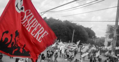 Veja as fotos do Ato pelo Fora Bolsonaro e vacina para tod@s, que ocorreu no último sábado (23/01).