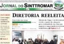 Edição de novembro do Jornal do Sinttromar é entregue na base