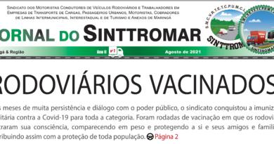 Edição 07 do jornal do Sinttromar já disponível!