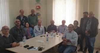 FETRATUH-SC recebe dirigentes das CONTRATUH para discutir projetos que fortaleçam a classe trabalhadora