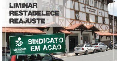 Liminar restabelece reajuste salarial dos Servidores de São Bento do Sul