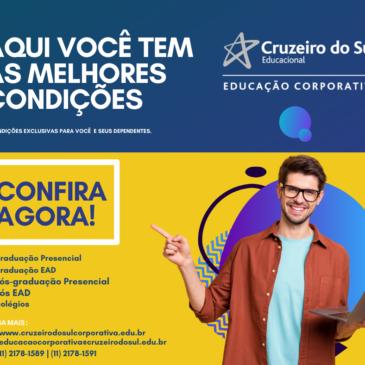 Convênio Sindiserviços-DF e Cruzeiro do Sul