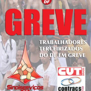 Sem salários, terceirizados na limpeza da saúde pública no DF ameaçam entrar em greve