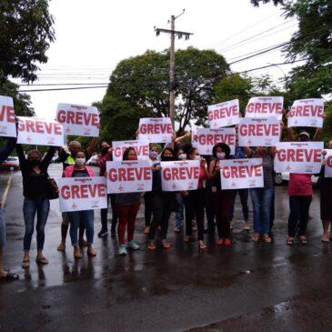 Terceirizados na limpeza de hospitais públicos nas cidades satélites estão em greve