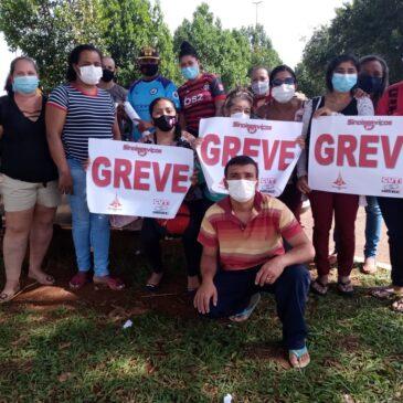A dura e covarde rotina de atrasos salariais dos trabalhadores terceirizados na Saúde do DF