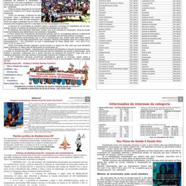 Leia o seu Jornal Sindiserivços-DF – impresso ou eletrônico