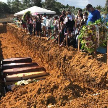 Brasil supera 340 mil mortes por covid-19 em dia com 3.829 vítimas