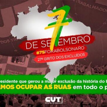 Justiça garante ato 'fora, Bolsonaro' e grito dos excluídos em SP no dia 7 /9