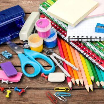 Distribuição do Material Escolar 2020