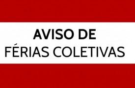 FÉRIAS COLETIVAS DO SITICOM