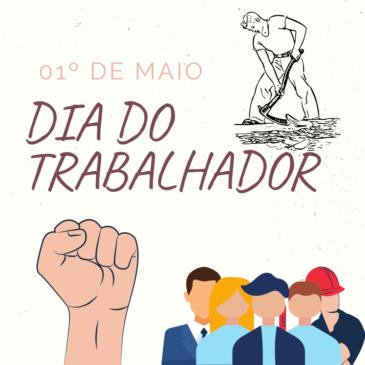 01 DE ABRIL , FELIZ DIA DO TRABALHADOR!!!