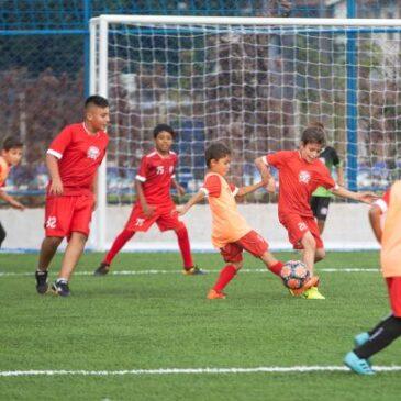 Centro de treinamento esportivo de futsal e futebol