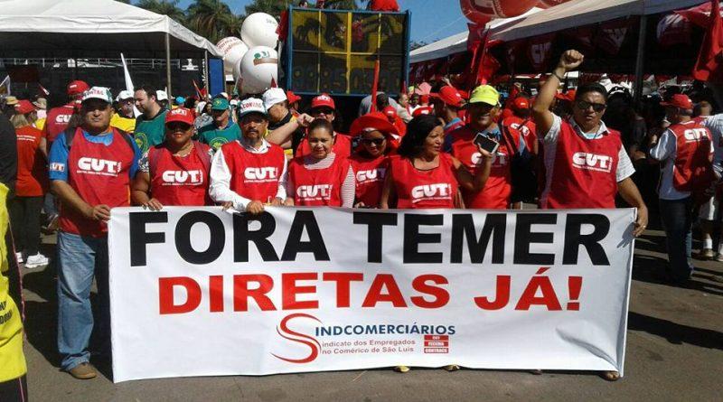 Ocupa Brasília, contra as reformas Trabalhista e Previdenciária
