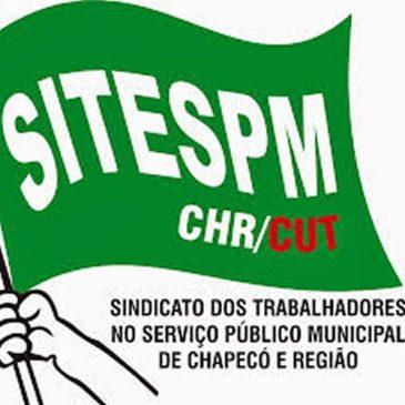 NOTA DA DIREÇÃO DO SITESPM-CHR