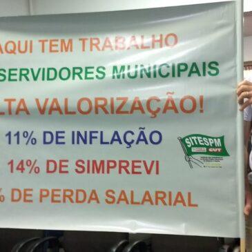 A Prefeitura de Chapecó decidiu antecipar 50% do décimo terceiro e aumentar as perdas salariais dos Servidores Municipais