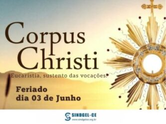 03 de junho – Corpus Christi