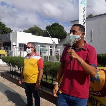 Trabalhadores da Cagece: SEEACONCE fiscaliza cumprimento do direito a 30% de adicional de periculosidade