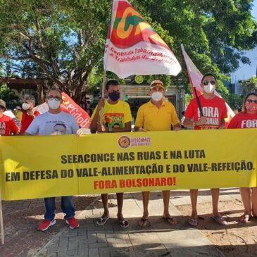 """SEEACONCE alerta contra MP 1045 da nova """"minirreforma trabalhista"""" e contra os ataques do governo a vale-alimentação e vale-refeição"""