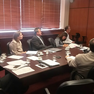 Sindiquinze participa de reunião do comitê de priorização do 1º Grau