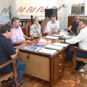 Obras da construção da sede de campo em Barra Bonita iniciadas no dia 7 de maio