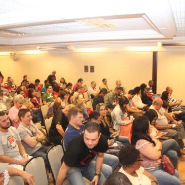 """Seminário """"O Serviço Público que queremos"""" destaca unidade na defesa de direitos"""