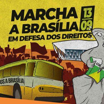 13 de setembro: Sindiquinze envia representação para o ato pela revogação da EC 95  em Brasília