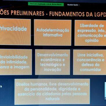 Oficiais de Justiça participam de curso sobre a Lei Geral de Proteção de Dados oferecido pelo Núcleo do Sindiquinze