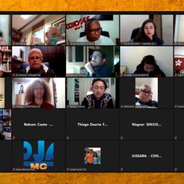 Sindiquinze participa de reunião do Núcleo do Trabalho e Serviços Públicos da bancada de oposição para luta contra a PEC 32