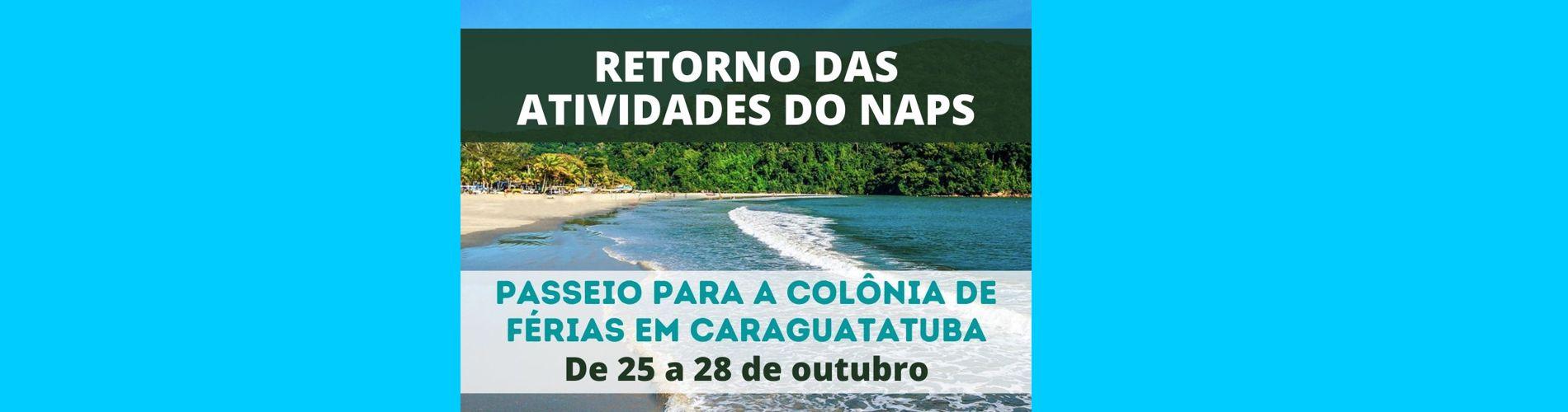 NAPS retoma reuniões presenciais com atividade na Sede de Praia em Caraguatatuba