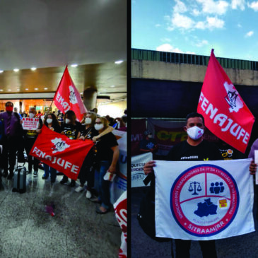 Sindiquinze segue mobilizado e na pressão contra a PEC 32 em Brasília