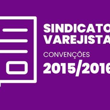 Sindicatos Varejistas 2015 / 2016