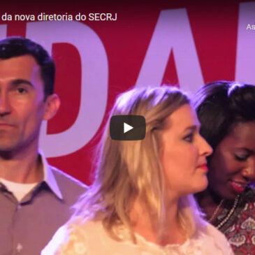 Festa de posse da nova diretoria do SECRJ