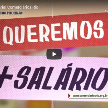 Campanha Salarial dos Comerciários Rio