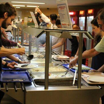 Refeitórios do SECRJ, sabor e economia para os comerciários