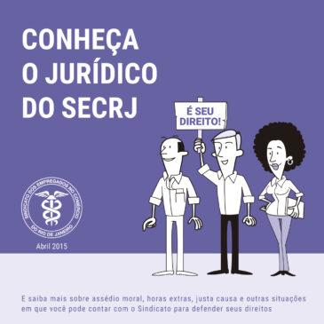 Conheça o jurídico do SECRJ | cartilha