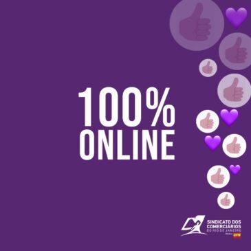 Sindicato terá funcionamento 100% on-line
