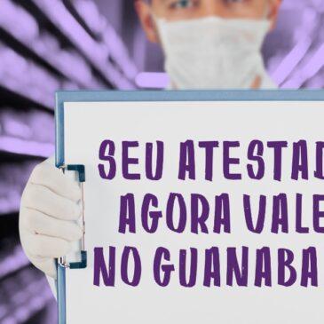 Vitória do Sindicato! Guanabara agora tem que aceitar atestados médicos