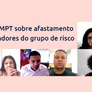 Ministério Público do Trabalho recomenda afastamento de gestantes